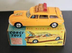 Corgi Toys 436 Citroen Safari ID19 With Original Box.