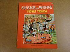 STRIP 1° DRUK VIERKLEURENREEKS / SUSKE EN WISKE N° 86 - TEDERE TRONICA