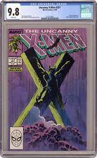 Uncanny X-men #251 certificado Guaranty Corporation 9.8 1989 212231800 7
