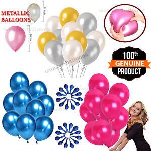 "10-100 10"" 5"" PEARL Metallic BALLOON BALLONS helium BALOON Wedding BirthdayParty"