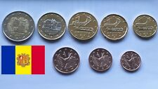 ANDORRE -ANDORRA -serie 1 Cent  à  2 Euro  2017 - Toutes 2017 - 8 Coins All 2017