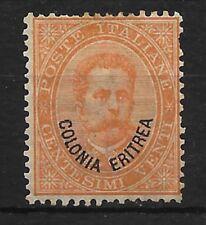 ERITREA. COLONIAS ITALIANAS Nº 5 SIN GOMA