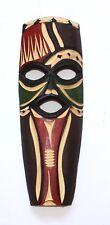 geschnitzte Holzmaske afrikanische Maske Swazi-Maske handbemalt aus Südafrika