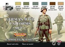 LIFECOLOR GERMAN WWII UNIFORMS CAMOUFLAGE SET.1 cod.CS04