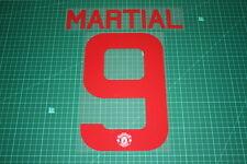 Manchester United 15/16 #9 MARTIAL UEFA / FA Cup AwayKit Nameset Printing