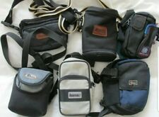 Joblot Of 6 Quality Aftermarket Camera Cases - Lowepro, Hama .. - Good Condition