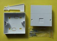 Telephone Master Socket Genuine Pressac NTE5A New +Tool+BackBox for BT OpenReach