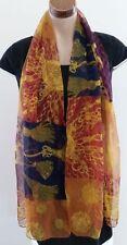 Unbranded Geometric Chiffon Scarves & Wraps for Women