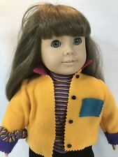 Pleasant Co. American Girl Doll Brown Hair Gray Eyes in First Day Meet Outfit