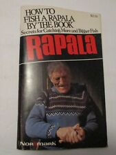VINTAGE 1987 HOW TO FISH A RAPALA LURE BY THE BOOK FISHING BOOK ~ VERY USEFUL