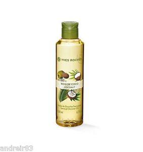 YVES ROCHER Shower Oil Coconut 200 ml 6,7 fl oz 38614 girlfriend mommy gift idea