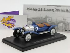 Autocult 01009 # Voisin Type C3.S blau-silber Strasbourg Grand Prix 1922 1:43
