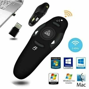 2.4GHz PPT Presenter Laser Pen Computer Presentation Remote Control Clicker Pen