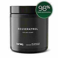 Ultra High Purity Resveratrol Capsules - 98% Trans-Resveratrol - 100:1 Concentra