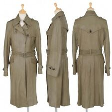 (SALE) 5351 POUR LES FEMMES leather trench coat Size F(K-21495)