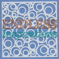 "6""x6"" Endless Inspirations Stencil, Abstract A - Free US Shipping"