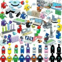 20Pcs lot 2in1 set Among US Game model Building block toys mini-figure doll Kids