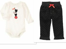 NEW GYMBOREE GIRLS  Kitten Top Corduroy  Pants Outfit   SIZE 18-24 MTHS