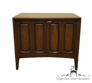 """HIGH END Solid Cherry Mid Century Modern 26"""" Accent Storage End Table 6220-20..."""