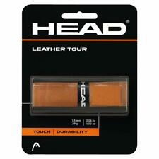 Head Leather Tour Grip Tennis Racket Tapes Racquet Brown Durability 1.5mm