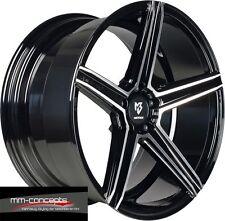 22 Zoll KV1 Concave Alu Felgen schwarz für Porsche Panamera Cayenne GTS Turbo S