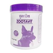 380 Tabs Zootavit Calcium Multi-Vitamin Maintain Bone Muscle Dog Supplementary