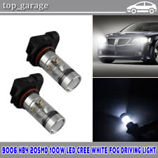 100W LED Fog Light Bulb Kit 9006 6000K for 2006-2010 Lexus IS250 / IS350