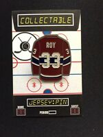 Montreal Canadiens Patrick Roy jersey lapel pin-#1 Collectable-4 caps & shirts