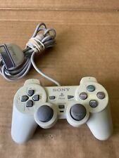 Pre-Owned Used Sony PS1 PS2 White Playstation Controller W/ Joysticks A2