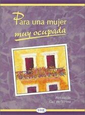Para Una Mujer Muy Ocupada Riba, Lidia Maria Hardcover