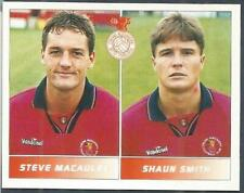 PANINI FOOTBALL LEAGUE 95 -#446-CREWE ALEXANDRA-STEVE MACULEY / SHAUN SMITH