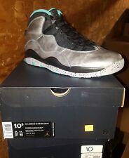 """Brand New Air Jordan 10 Retro """"Lady Liberty"""" Mens Athletic Sneakers [705178 045]"""