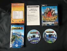 SimCity 4 (PC, 2003) DELUXE EDITION COMPLETE PREOWNED SIMS GAME W/ KEY PC CD-ROM