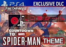 Spider-Man PS4 Exclusive Battle Theme | DLC | PlayStation 4 Digital Code + BONUS