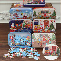 Puzzle wooden Christmas DIY Handmade puzzle 60 pieces children's gift