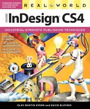 (Very Good)0321592433 Real World Adobe InDesign CS4,Kvern, Olav Martin, Blatner,