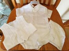 White Baptism or Christening Outfit (Boy or Girl)