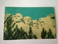Vintage Postcard Mount Rushmore South Dakota 1965  M1