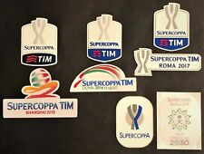 "TOPPE ufficiali varie stagioni ""SUPERCOPPA ITALIANA "" official patch mix seasons"