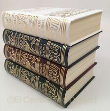 Set de 4 Biblias Latinoamerica tamaño bolsillo pasta dura. Azul+Roja+Verde+Bla..