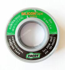 NASTRO SIGILLANTE SILICON TAPE SEALING 14 mm x 5 mt TEFLON CANAPA RACCORDI TUBO