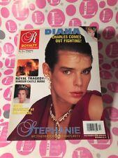 ROYALTY Magazine Vol. 11, No. 12 1992 PRINCESS STEPHANIE of MONACO - NEAR MINT!!
