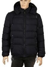 NEW BURBERRY MEN'S NAVY BLUE DOWN PUFFER REMOVABLE SLEEVES COAT JACKET & VEST XS