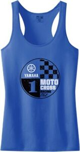 Factory Effex Yamaha Women's Tank Top Motorcycle ATV/UTV Street Bike