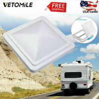 "14""x14"" Universal Trailer Car RV Roof Vent Cover Camper Trailer Motorhome Lid"