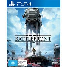 Star Wars Battlefront PS4 Games Sony PAL New Playstation 4