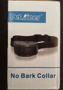 Dog Pet Trainer Stop Dogs Barking Shock Pet Training Control Collar incl Battery