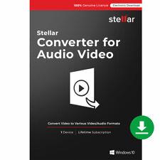 Stellar Acoustique & Convertisseur Vidéo Full Version pour Windows