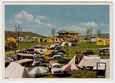 WÜRZBURG-HEIDINGSFELD Camping Kalte Quelle / Autos Zelte Wohnwagen * AK um 1960