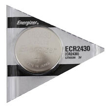 CR2430 Energizer 2430 Lithium 3-Volt Coin Cell Batteries 2 Pk